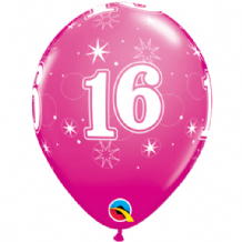 16 Sparkle Pink - 11 Inch Balloons 25pcs